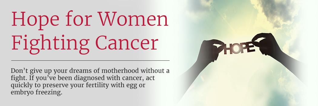 Fertility preservation for cancer